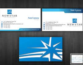 #22 para Business Card Design for New Star Environmental por cukisdesign