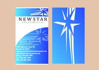 Bài tham dự #65 về Graphic Design cho cuộc thi Business Card Design for New Star Environmental