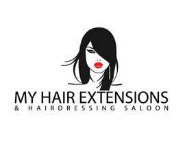 nº 19 pour Hair Extensions & Hairdressing logo par kajal015