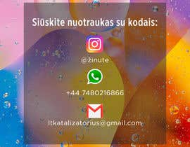 #20 for Instagram business account picture with how to contact details by josselinrt