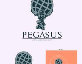 ilustrarojo tarafından Pegasus Agency logo and illustrations- Logo Agencia Pegasus e ilustraciones için no 29