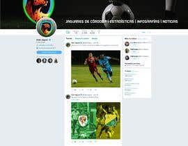 Nro 8 kilpailuun Logo para una pagina de twitter käyttäjältä nicolasmancini