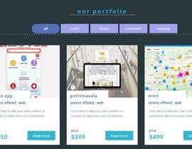 #11 for Redesign our current portfolio page by almumin