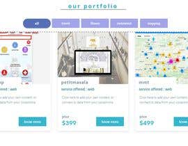 #12 for Redesign our current portfolio page by almumin