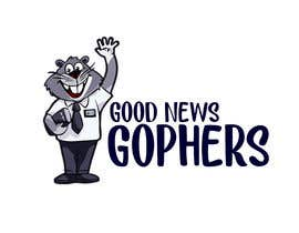 #40 for Make this Gopher a Missionary - T-Shirt Logo af RibonEliass