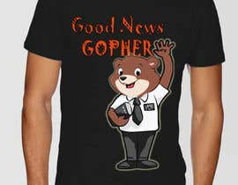 #51 for Make this Gopher a Missionary - T-Shirt Logo af SpecterRiaz