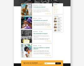 #38 , UX/UI Design - Blog page 来自 gonalegen