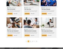 #27 , UX/UI Design - Blog page 来自 shakilaiub10