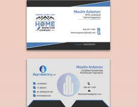 #76 for Business card For real estate appraiser 2 by nupur936