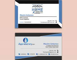 #77 for Business card For real estate appraiser 2 by nupur936