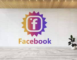 #1320 for Create a better version of Facebook's new logo by Hannan821