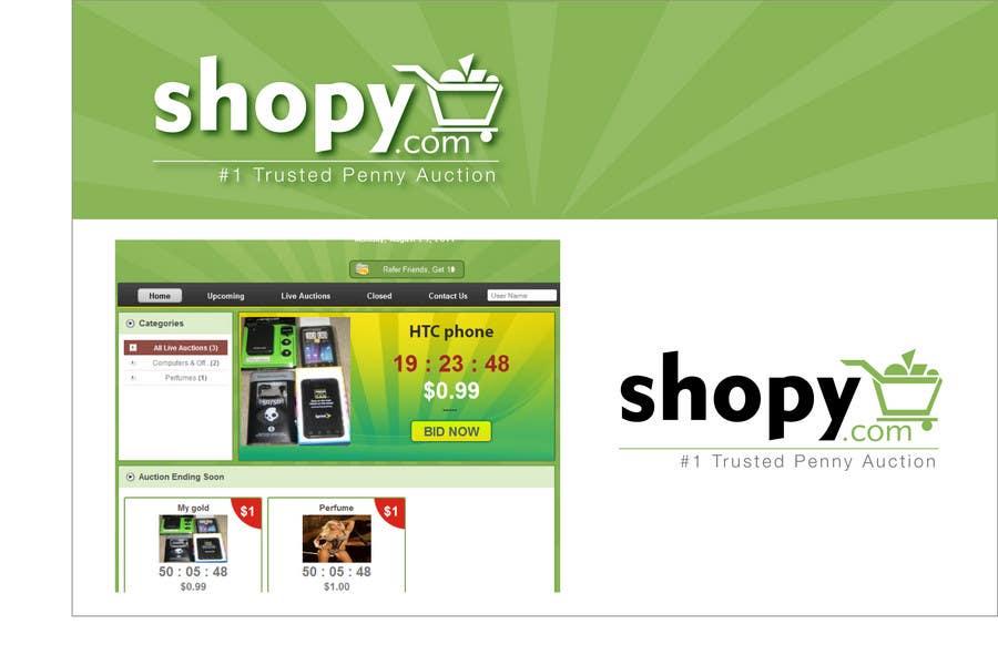 Bài tham dự cuộc thi #43 cho Logo Design for Shopy.com