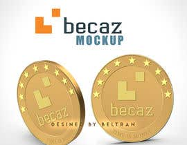 beltranbrito tarafından Design of Cryptocurrency Coin in 3D with different backgrounds and wallpapers için no 2