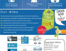 nº 12 pour A4 flyer needed to promote cloud bookeeping & accounting services par ameerhsanan