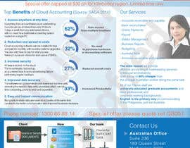 nº 10 pour A4 flyer needed to promote cloud bookeeping & accounting services par chungfred