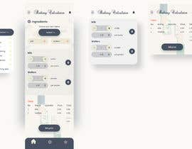 #11 for Create UX/UI for  baking pricing app by oliviagraphixs