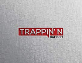 #17 for Trappin' N DaTruck—- description is...Semi truck pulling a flatbed trailer with stacks of money on the back... I want the money to look as if it's flying off the trailer by alfahanif50