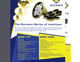 #84 for Design advertising flyer for industrial sander by Mubasshirin