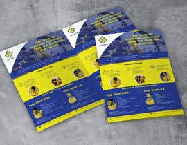 #28 для Design advertising flyer for industrial sander от moniruddin11994