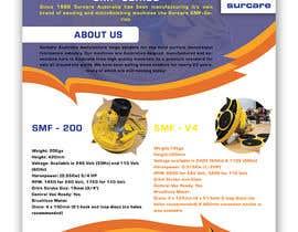 #160 для Design advertising flyer for industrial sander от MdZihadulIslam