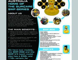#77 for Design advertising flyer for industrial sander by golamfaruk537