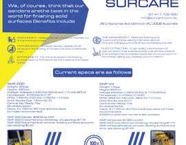 #156 для Design advertising flyer for industrial sander от mdrajib676