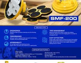 #15 cho Design advertising flyer for industrial sander bởi ericzgalang