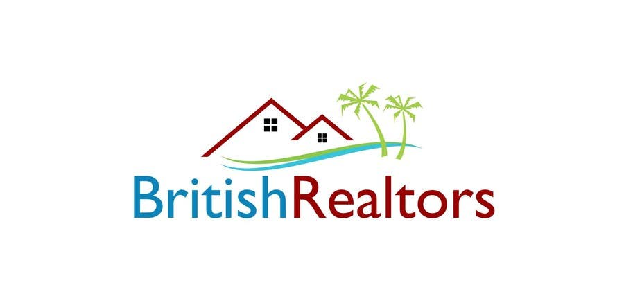 Penyertaan Peraduan #                                        9                                      untuk                                         Logo Design for British Realtors, relocating people UK to Forida