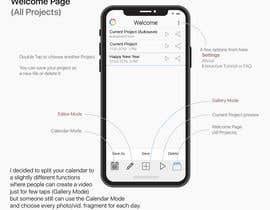 nº 23 pour Redesign an app logo and User Interface par sophov