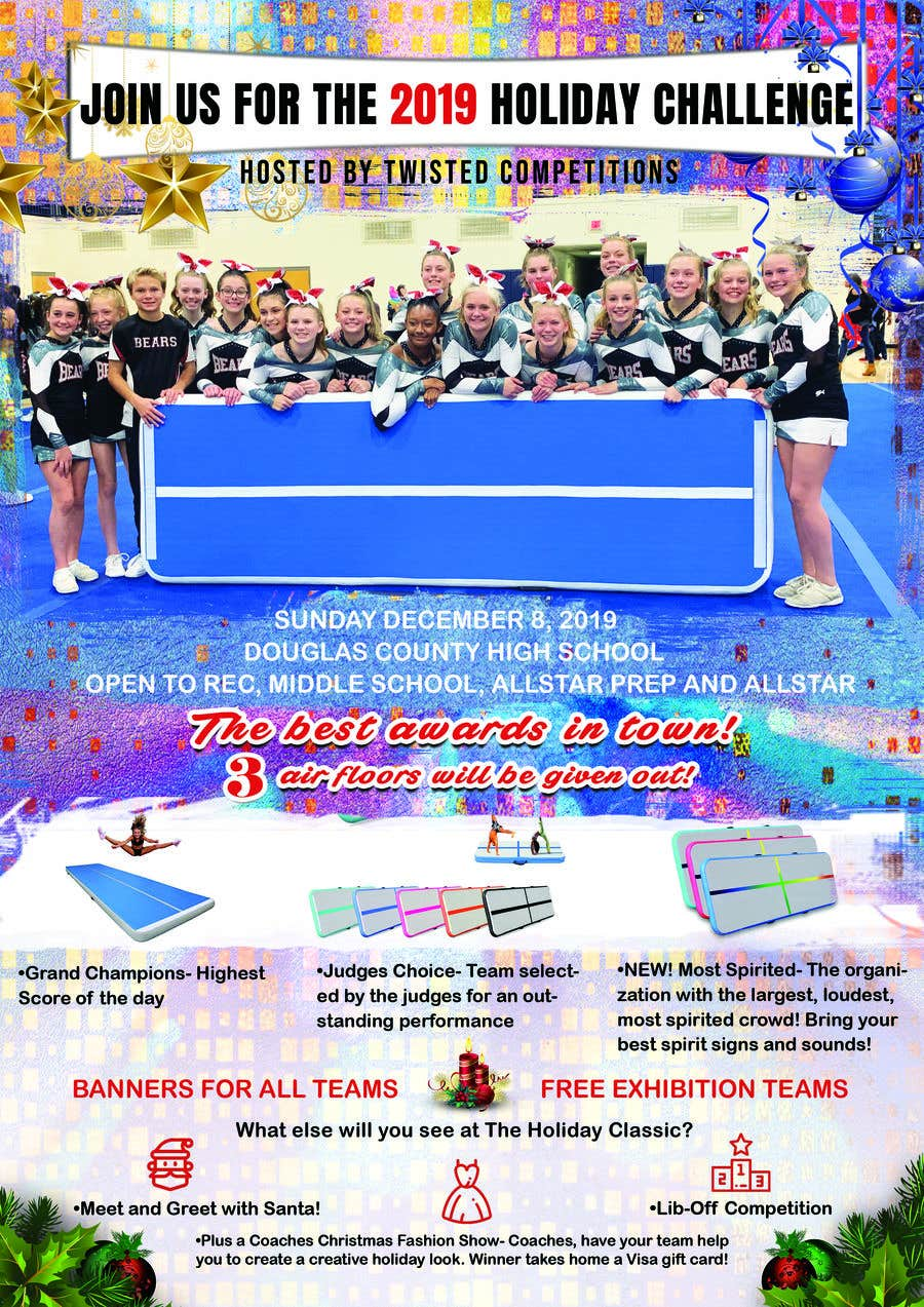 Proposition n°85 du concours Christmas Cheer Event Flyer