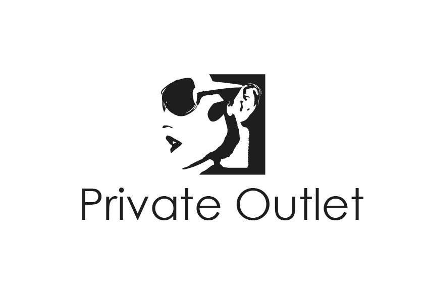 Penyertaan Peraduan #                                        34                                      untuk                                         Logo Design for www.private-outlet.tn