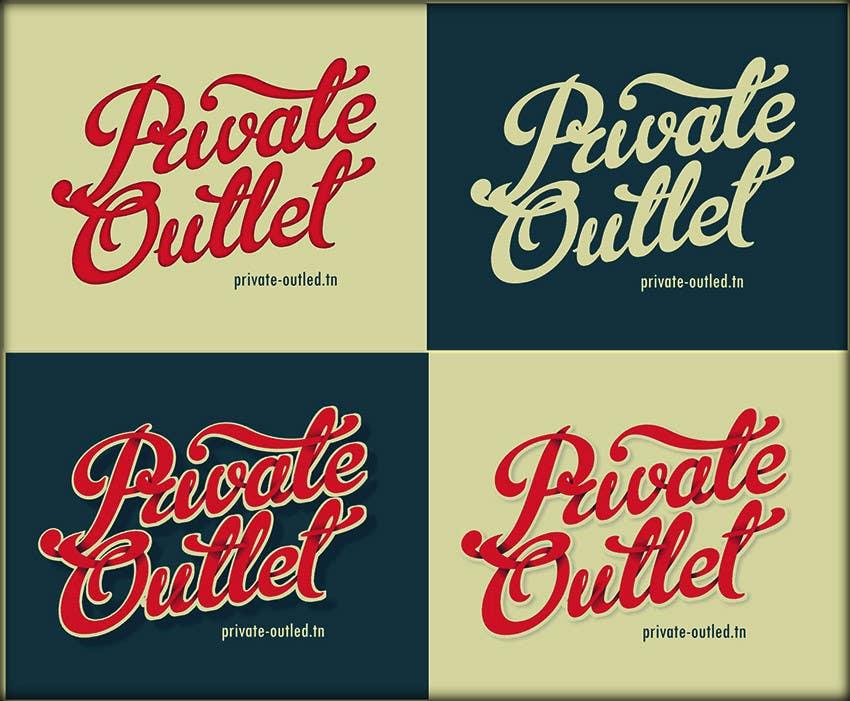 Penyertaan Peraduan #                                        11                                      untuk                                         Logo Design for www.private-outlet.tn