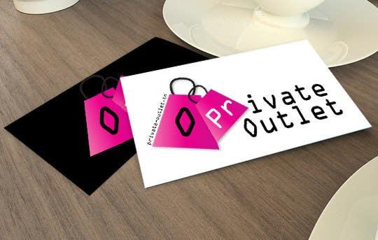 Penyertaan Peraduan #                                        27                                      untuk                                         Logo Design for www.private-outlet.tn
