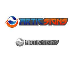#50 untuk Logo Design for ARTIC SIGNS oleh won7