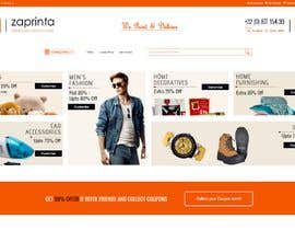 #22 for E-commerce homepage webdesign by shahzadhai888