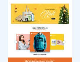 #74 for E-commerce homepage webdesign by GraphicaKing