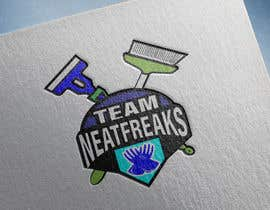 "#141 for I need a logo for my cleaning company ""Team Neat Freaks"". Custom lettering and graphic. I've attached a few ideas I like including the colors I want it to have.  Clean but hip as well, may also have a sports team element hence the name ""Team"" Neat Freaks by paulall"