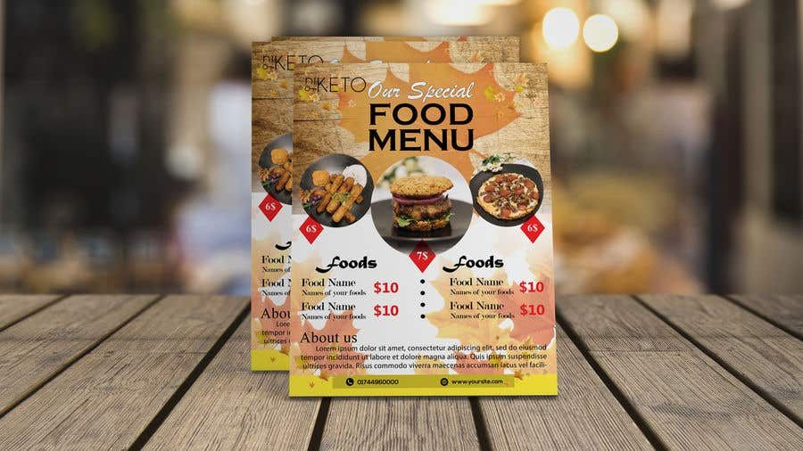 Bài tham dự cuộc thi #30 cho create postcard flyer for new restaurant