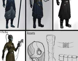 """#13 para AAA Game """"Space Nazi"""" Character Design por cuxela123"""