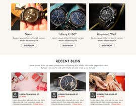 #53 untuk Homepage Design for e-commerce platform oleh WebCraft111