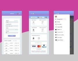 #5 для Re Design Mobile Application UI від fakharu6036
