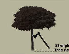nº 5 pour Logo Design for Straight Cut Tree Service par flynnrider