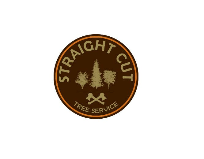 #8 for Logo Design for Straight Cut Tree Service by kainatali