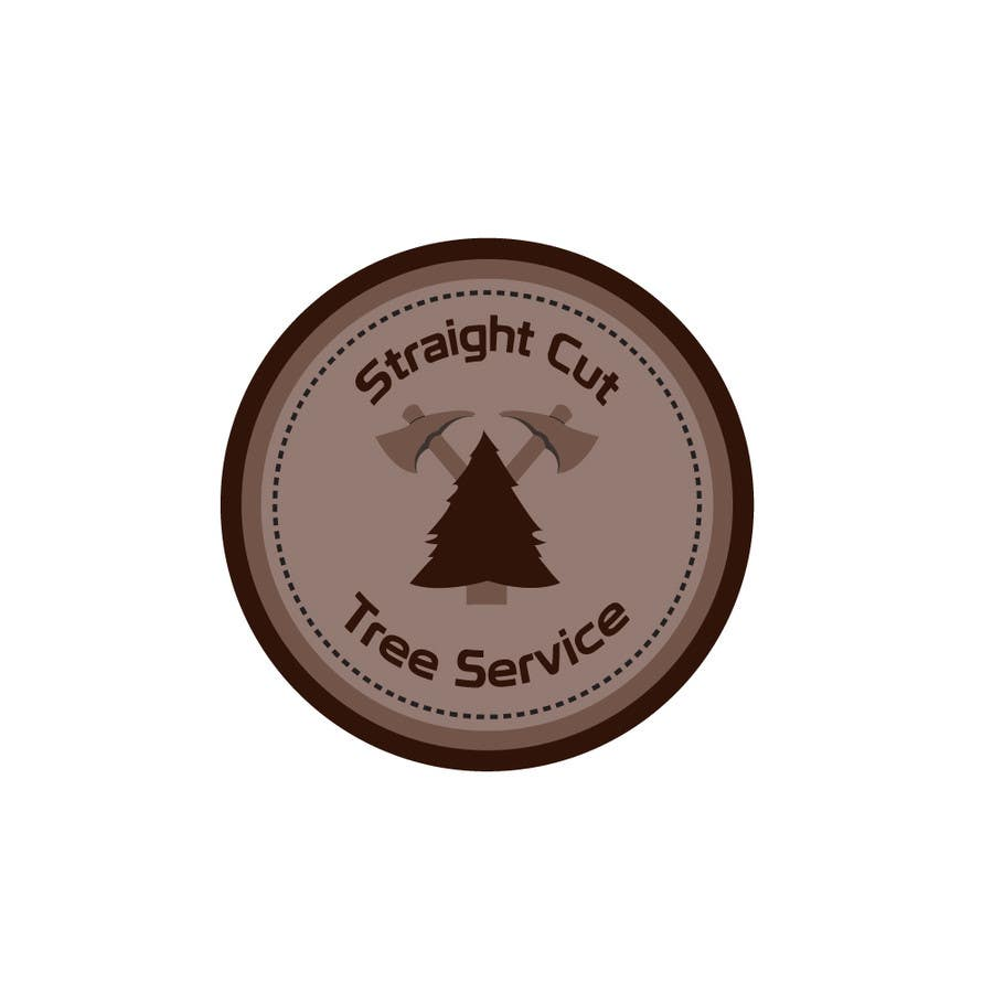 #40 for Logo Design for Straight Cut Tree Service by VaraxenDesigns