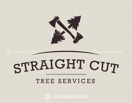 nº 3 pour Logo Design for Straight Cut Tree Service par osokin
