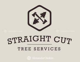 #28 cho Logo Design for Straight Cut Tree Service bởi osokin