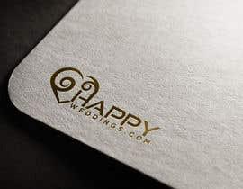nº 642 pour Happy Weddings.Com Logo to be designed par altafhossain3068