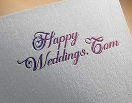 #853 cho Happy Weddings.Com Logo to be designed bởi Hannan821