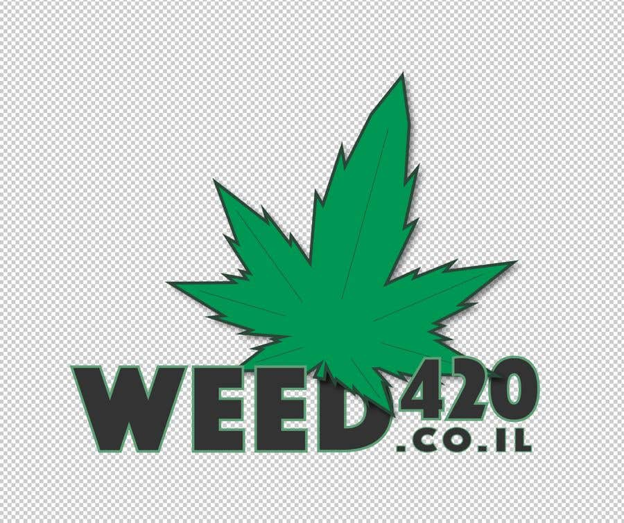 Kilpailutyö #22 kilpailussa A logo for a weed website