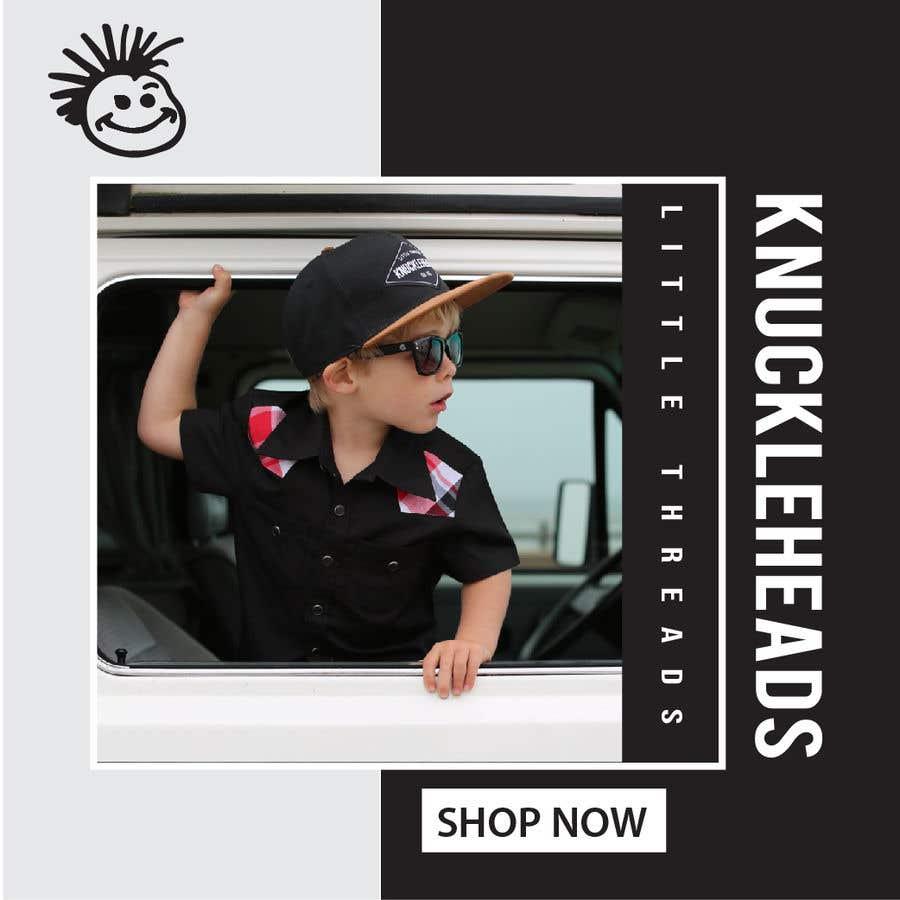 Konkurrenceindlæg #124 for Banner for Advertising Knuckleheads Clothing